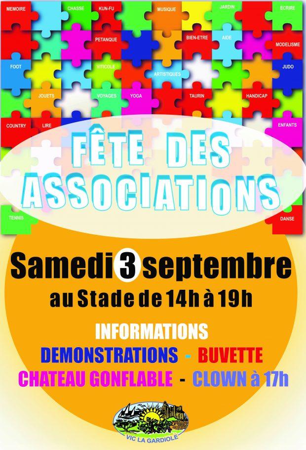 Fête des Associations /  Inscriptions Réinscriptions